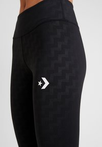 Converse - VOLTAGE - Leggings - black