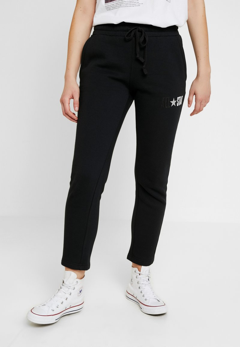 Converse - ALL STAR PANT - Tracksuit bottoms - black