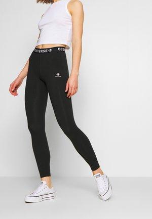 WORDMARK  - Leggings - Trousers - black