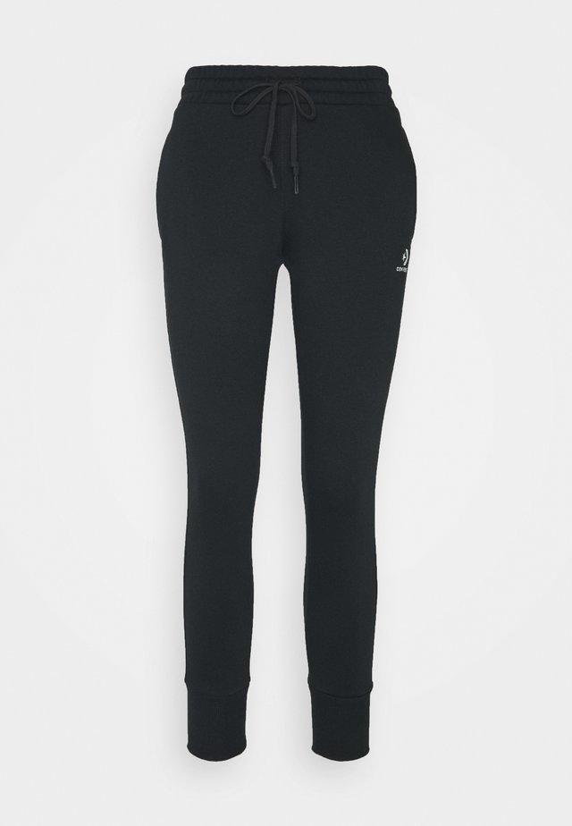 WOMENS STAR CHEVRON FOUNDATION SIGNATURE PANT - Pantalones deportivos - black