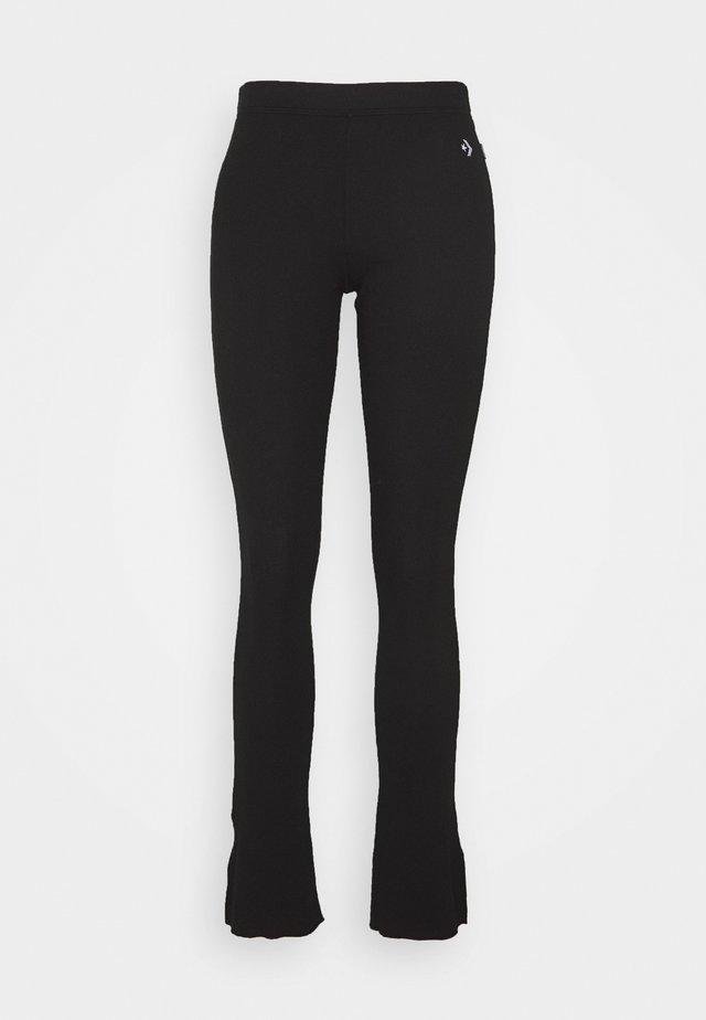 CHEVRON HACK - Leggings - black