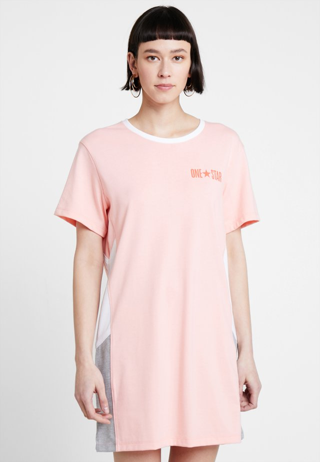 LIGHTWEIGHT DRESS - Jerseykjole - bleached coral