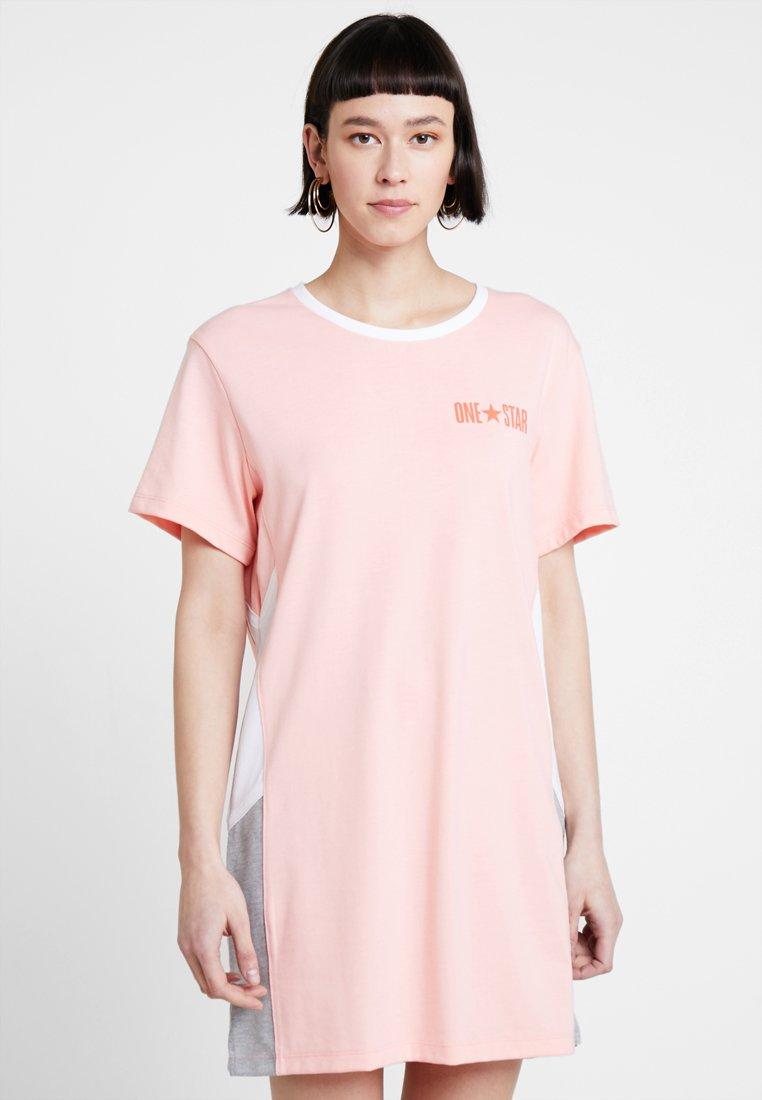 Converse - LIGHTWEIGHT DRESS - Jersey dress - bleached coral
