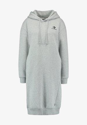 STAR CHEVRON DRESS - Denní šaty - vintage grey heather