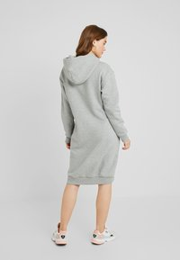Converse - STAR CHEVRON DRESS - Kjole - vintage grey heather - 2