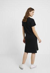 Converse - LONG TEE DRESS - Vestito di maglina - black - 3