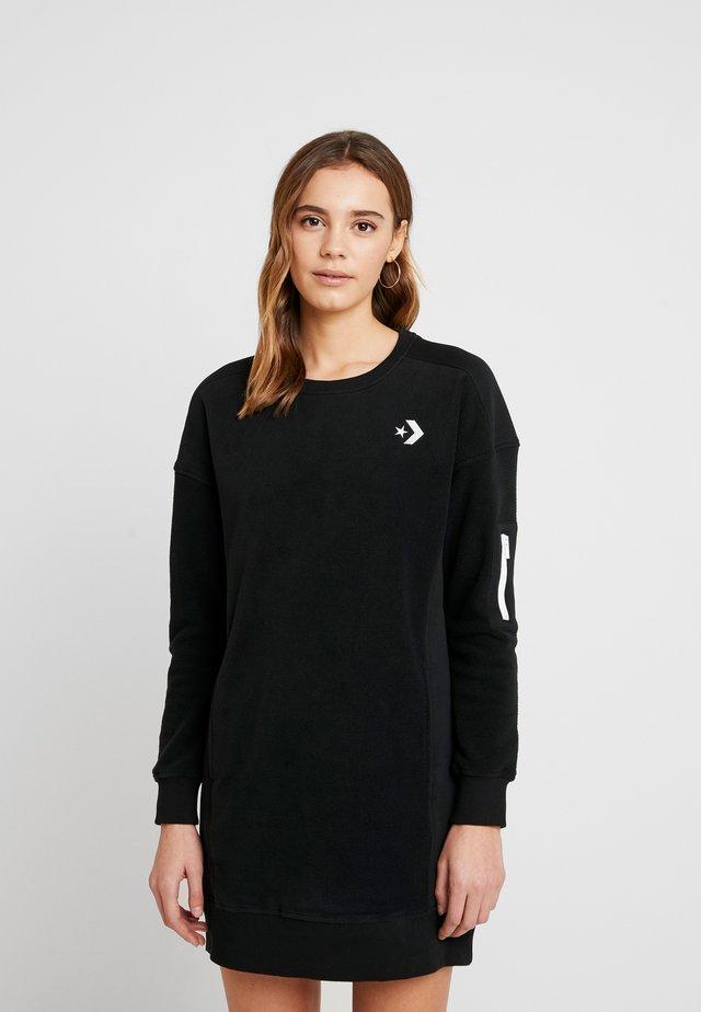 BLOCKED RESS - Day dress - black