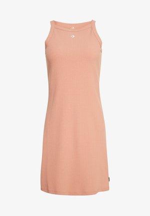 WOMANS STRAP DRESS - Vestido de tubo - rose gold