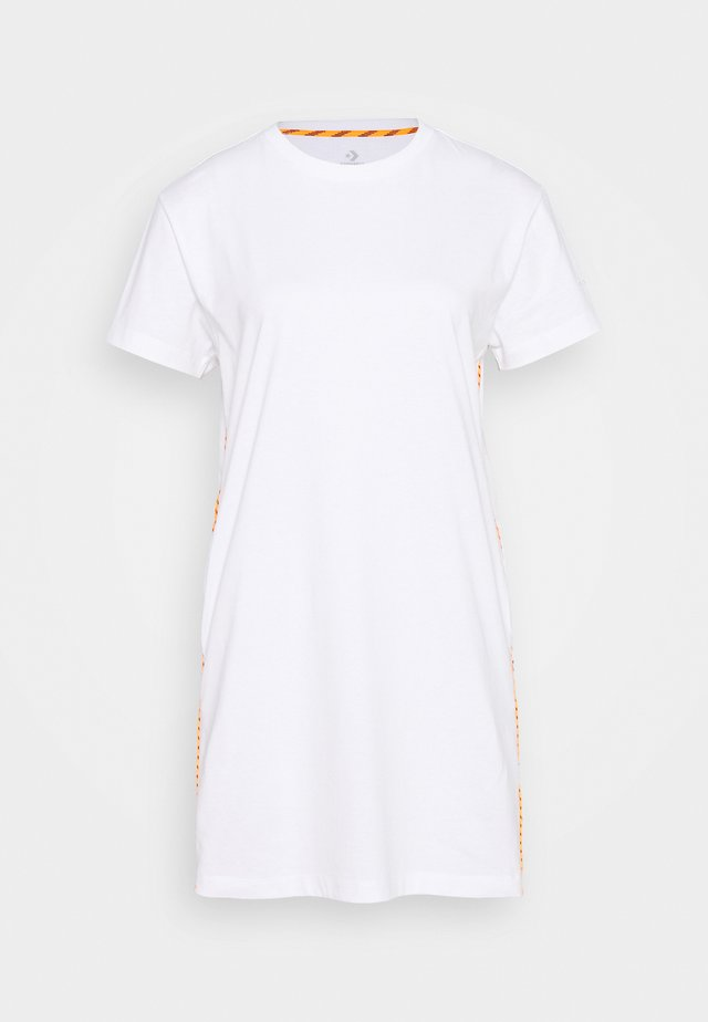 WOMENS FASHION DRESS - Jerseyjurk - white
