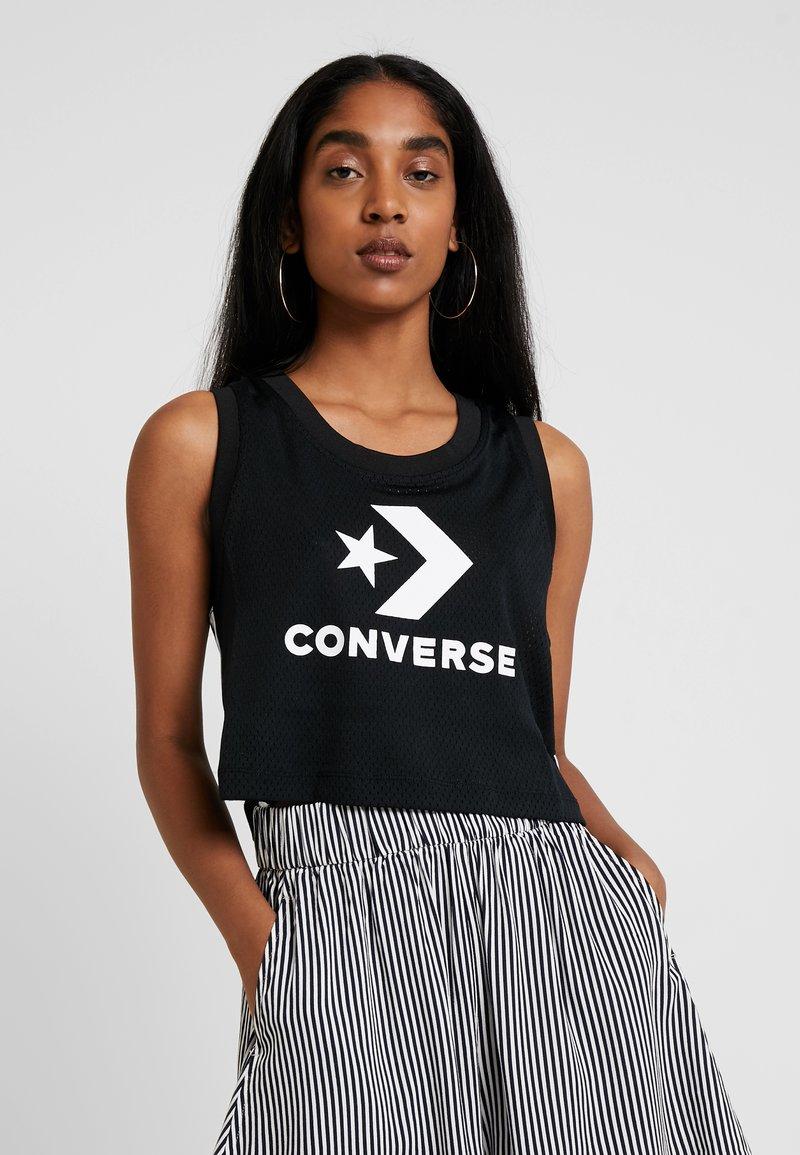Converse - TRACK MID TANK - Top - black