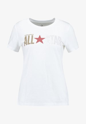 ALL STAR REMIX TEE - T-shirts med print - white