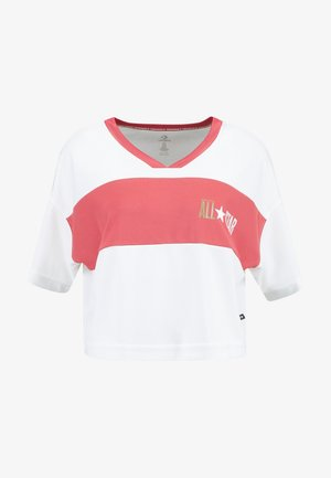 ALL STAR TEE - T-shirts med print - vintage white