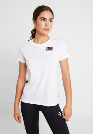 VOLTAGE TEE - Print T-shirt - white