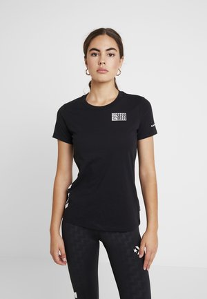 VOLTAGE TEE - T-shirt con stampa - black