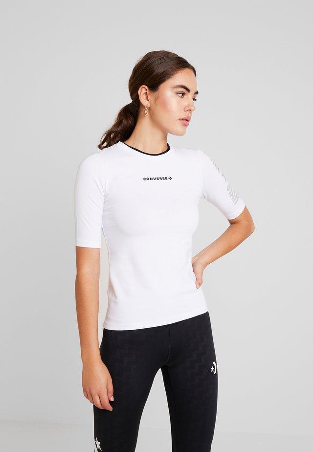 CREW ALL STAR - T-shirt print - white