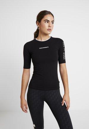 CREW ALL STAR - T-shirt con stampa - black
