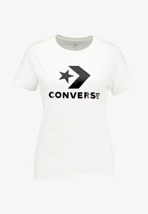 STAR CHEVRON TEE - T-shirts med print - white