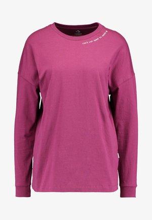 RENEW LIFES TEE - Long sleeved top - mesa rose
