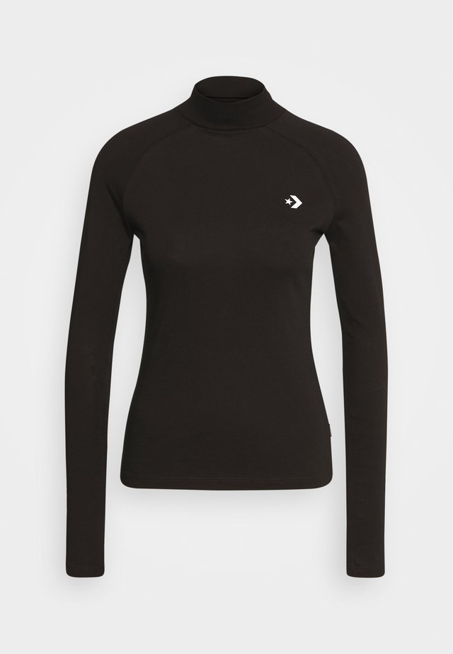 MOCK NECK LONG SLEEVE  - Topper langermet - black