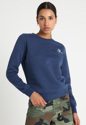 STAR CHEVRON CREW - Sweater - navy