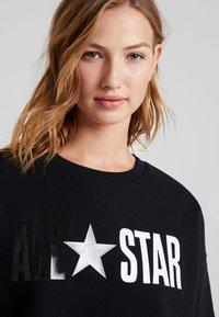 Converse - ALL STAR CREW - Sweater - converse black - 3