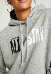 Converse - ALL STAR HOODIE - Hoodie - vintage grey heather - 5