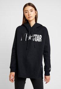 Converse - ALL STAR HOODIE - Hoodie - black - 0