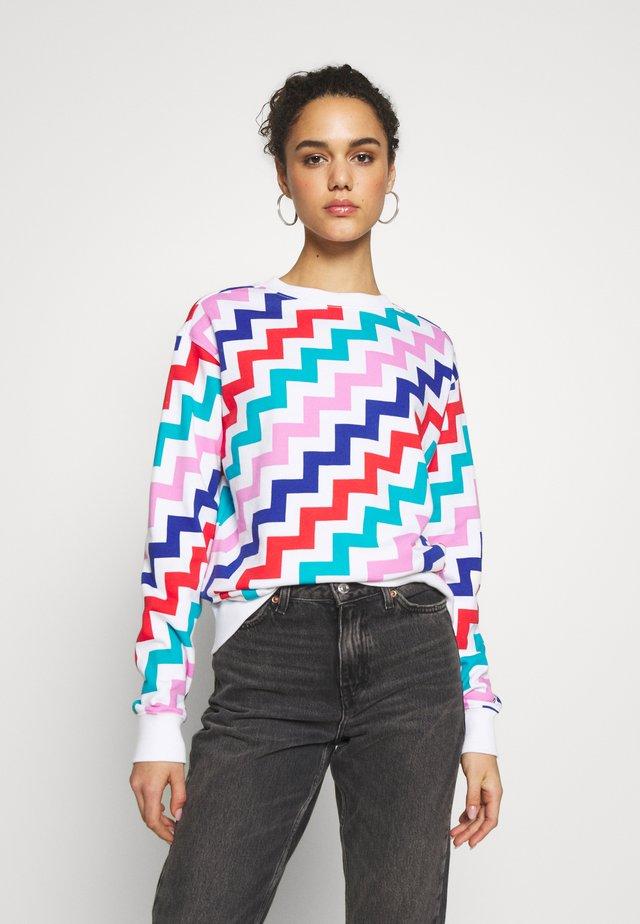 CREW SWEATSHIRT - Sweatshirt - multi-coloured
