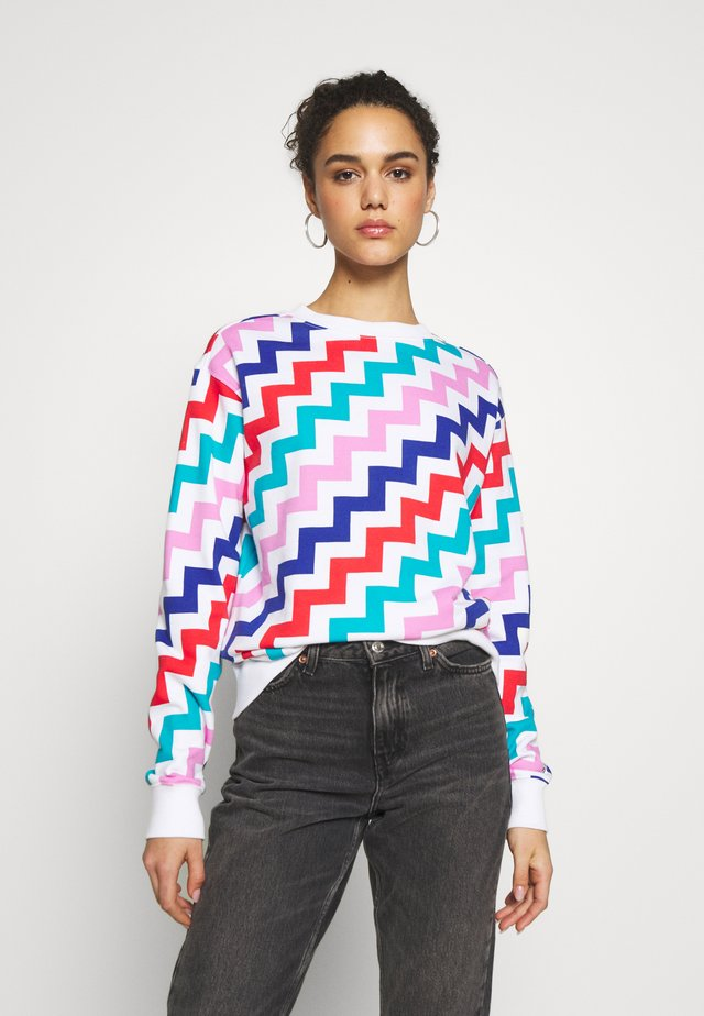 CREW SWEATSHIRT - Sweater - multi-coloured