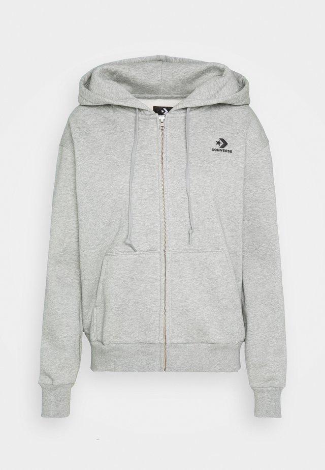 WOMENS FOUNDATION FULL ZIP HOODIE - Zip-up hoodie - grey
