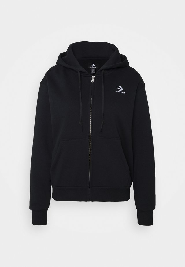 WOMENS FOUNDATION FULL ZIP HOODIE - Hettejakke - black