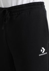 Converse - STAR CHEVRON PANT - Tracksuit bottoms - black - 3