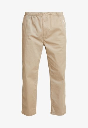 EASY TWILL PANT - Chinosy - beige