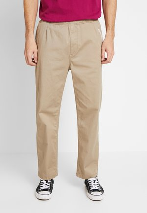 EASY TWILL PANT - Chino - beige
