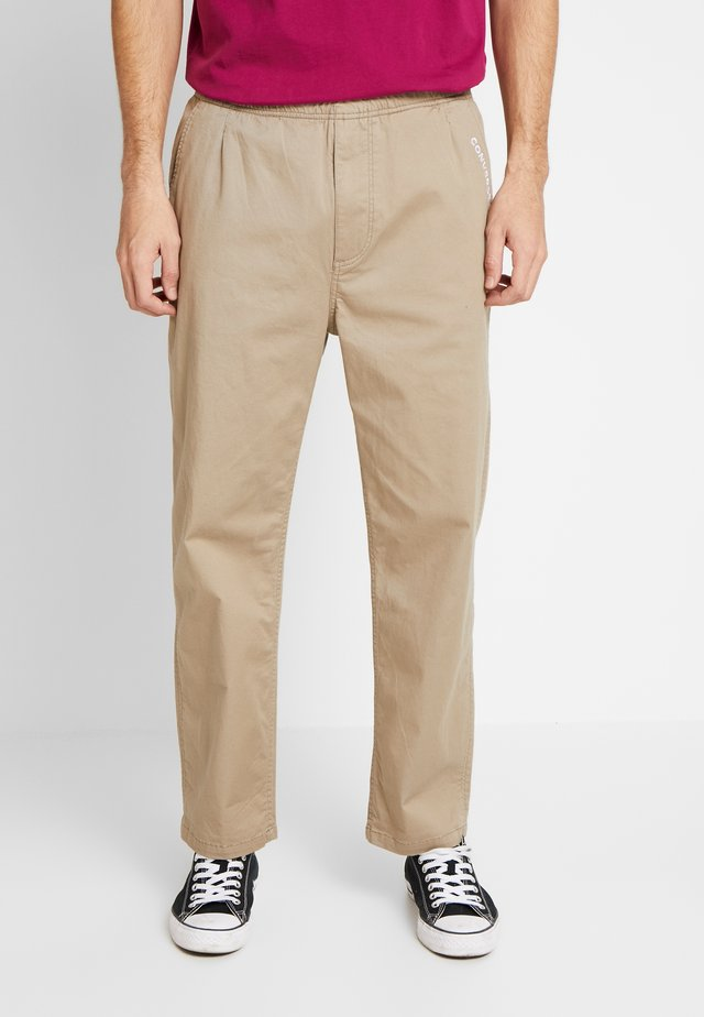 EASY TWILL PANT - Chinos - beige