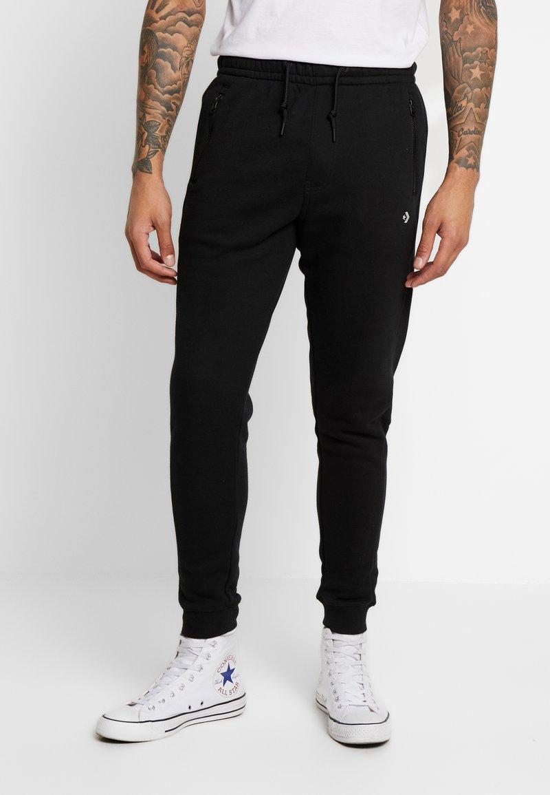 Converse - SMALL WORDMARK JOGGER - Spodnie treningowe - black