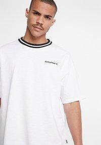 Converse - OVERSIZED RINGER TEE - T-shirt basique - white - 3