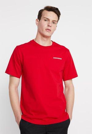 ALL STAR SHORT SLEEVE TEE - Camiseta estampada - enamel red