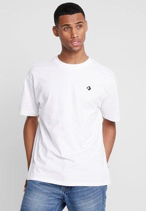 CHEVRON  OVERSIZE TEE - T-shirt basic - white