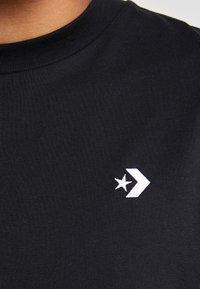 Converse - CHEVRON  OVERSIZE TEE - Basic T-shirt - black - 4