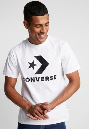 STAR CHEVRON TEE - Print T-shirt - white