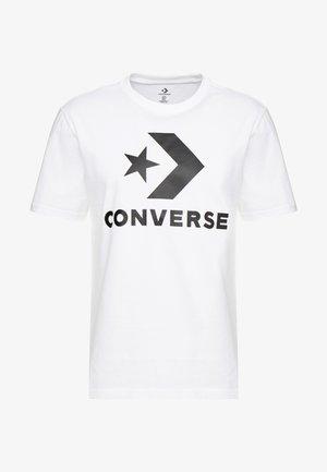 STAR CHEVRON TEE - Camiseta estampada - white