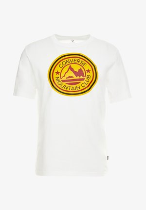 MOUNTAIN CLUB PATCH GRAPHIC SHORT SLEEVE - Print T-shirt - white