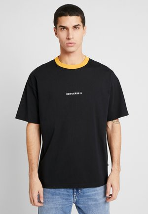 WORDMARK - T-shirt con stampa - black