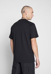 Converse - ALL STAR - T-shirt med print - converse black - 2