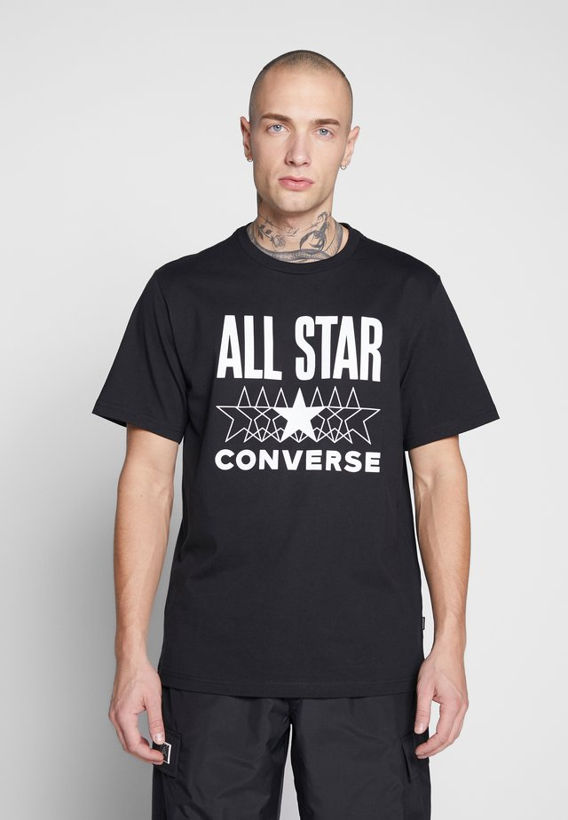ALL STAR - T-shirt print - converse black