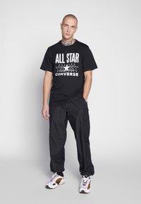 Converse - ALL STAR - T-shirt med print - converse black - 1