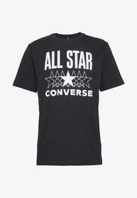 Converse - ALL STAR - T-shirt med print - converse black - 3