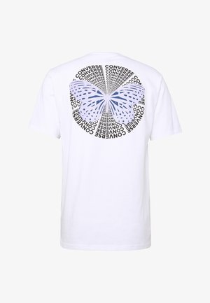 BUTTERFLY TEE - Print T-shirt - white