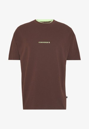 Print T-shirt - earth